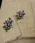 FLOWER 3 PERSONALISED TOWEL SET